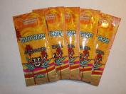 5 packets Sunraze Hot Skin Spankin 50xBronzer w/Hemp Oil .75z