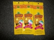 3 packets 2011 Sun Luvin' Triple Shot Sugar Cane Bronzers 15ml