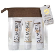 St Moriz Travel Size Mini Bronzing Collection with Instant Self Tanning Lotion