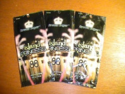 3 Packets Island Princess 88xBronzing Silicone Accelerate .75z