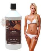 Sunless Airbrush Tan Solution SPRAY TANNING Barrier Prevent CREAM 950ml Ounces