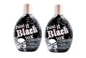 Millenium Tanning New Paint It Black Auto-darkening Dark Tanning Lotion, 50X, 400ml