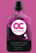 LOT of 2 - OC Gossip Silicone Tanning Lotion Bronzer Dark Bed Accelerator RSun