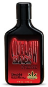 Outlaw Black Straight Hot Tingle Tanning Lotion 270ml