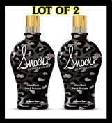 LOT of 2 Supre Snooki Ultra Dark Black Bronzer Tanning Lotion 350ml