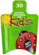 Kids Natural Sunscreen SPF 30 Travel Pack Goddess Garden 15ml Liquid