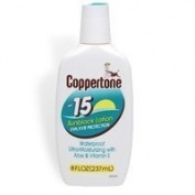Schering-Plough Coppertone UltraGuard Sunscreen Lotion 240ml - 8154