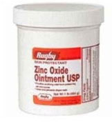 Zinc Oxide Ointment by Rugby - 0.5kg by RUGBY LABORATORIES