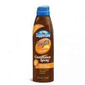 Coppertone Dry Oil Continuous Spray Tanning SPF 140ml