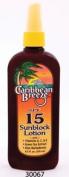 Caribbean Breeze-SPF15 SunScreen Spray Lotion, 8.5 oz