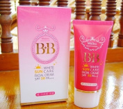 Mistine BB White Sun Care Facial Cream Sunscreen Sunblock Whitening Spf 50 Pa+++