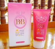 Mistine BB White Sun Care Facial Cream Sunscreen Sunblock Whitening Spf 50 Pa+++