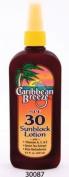 Caribbean Breeze-SPF 30 SunScreen Spray Lotion, 8.5 oz