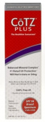Fallene Cotz Plus SPF 58 Water Resistant UVB/UVA Sunscreen for Sensitive Skin, 70ml Tube