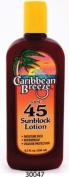 Caribbean Breeze-SPF 45 SunScreen Lotion, 8.5 oz