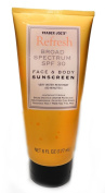 Trader Joe's Refresh Broad Spectrum SPF 30 Face & Body Sunscreen Very Water Resistant