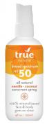 Spray SPF 50 - Vanilla - Coconut True Natural 120ml Spray