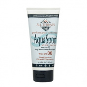 All Terrain 1119676 AquaSport SPF 30 Sunscreen - 6 fl oz