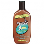 Coppertone Tanning Lotion SPF 8 Sunscreen-8 oz
