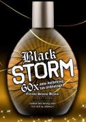 Millenium Tanning Black Storm Premium Tanning Lotion, Extreme Silicone Bronzer, 60x, 400ml
