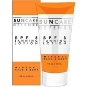Suncare Defence SPF 8 Tanning Lotion - 180ml