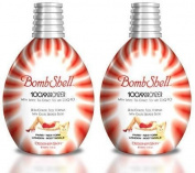 Bombshell 100xx Bronzer - Tingle Tanning Lotion - Lot of 2