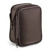 Bare Escentuals Brown Expandable Cosmetic Bag