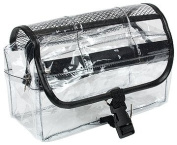Travel/Cosmetic Bag Clear Vinyl Dopp Kit