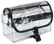Travel/Cosmetic Bag Clear Vinyl Dopp Kit