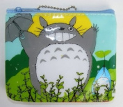 Totoro Small Cosmetic / Coin Bag - Umbrella