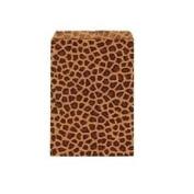 50 15.2cm X 22.9cm BIG Paper Bags Cheetah Leopard Animal Print Party Retail