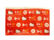 Hello Kitty Pencil Bag With Red Bow Design - Cosmetic Bag
