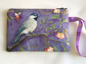 Cosmetic Bag,phone or Camera Holder, Piccadily Circus and Bird
