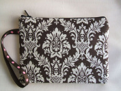 Mocha Pouch, Cosmetic Bag,or Phone Holder, Multi Use