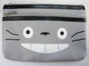 Totoro 19.1cm x12.7cm Double Zipper Bag