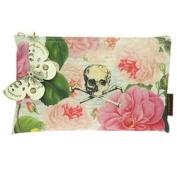 Tokyo Milk Skull w/ Roses Cosmetic Bag
