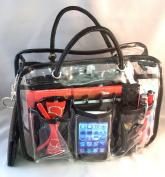 Charlie Clear Handbag Purse Cosmetic Make-Up Tote Travel Bag Organiser Insert Dimensions