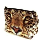 Leopard Make Up Bag / Wash Bag by Catseye