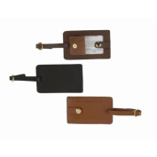 Personalised Royce Leather Snap Luggage Tag