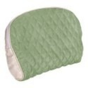 Green Silk Waterproof Cosmetic Bag