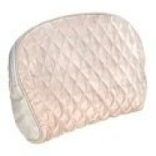 Pink Silk Waterproof Cosmetic Bag