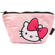 Hello Kitty Cosmetic Pouch Pink Quilt