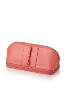 Morelle & Co. Rachel Leather Cosmetic/Jewellery Case, Coral