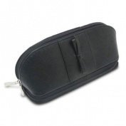 Morelle & Co. Rachel Leather Cosmetic/Jewellery Case, Black