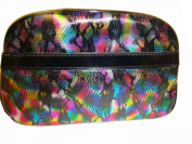 "Women's/Girl's Betseyville Large ""Tie Dye Python"" Cosmetic Bag"