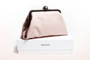 Valentino Valentina Pink Clutch Purse Cosmetic Case