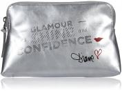 Diane von Furstenberg Mantra Cosmetic Case - Silver