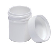 Plastic Ointment Jars With Lids 1/60ml 10/pkg