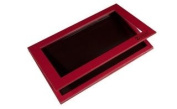 Z Palette Customizable Magnetic Palette Red Large