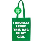 Recycle Bag - Leave This Bag in Car